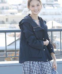 【3WAY】マウンテンパーカー (モッズコート・フーデッドブルゾン)(ライナー付き)