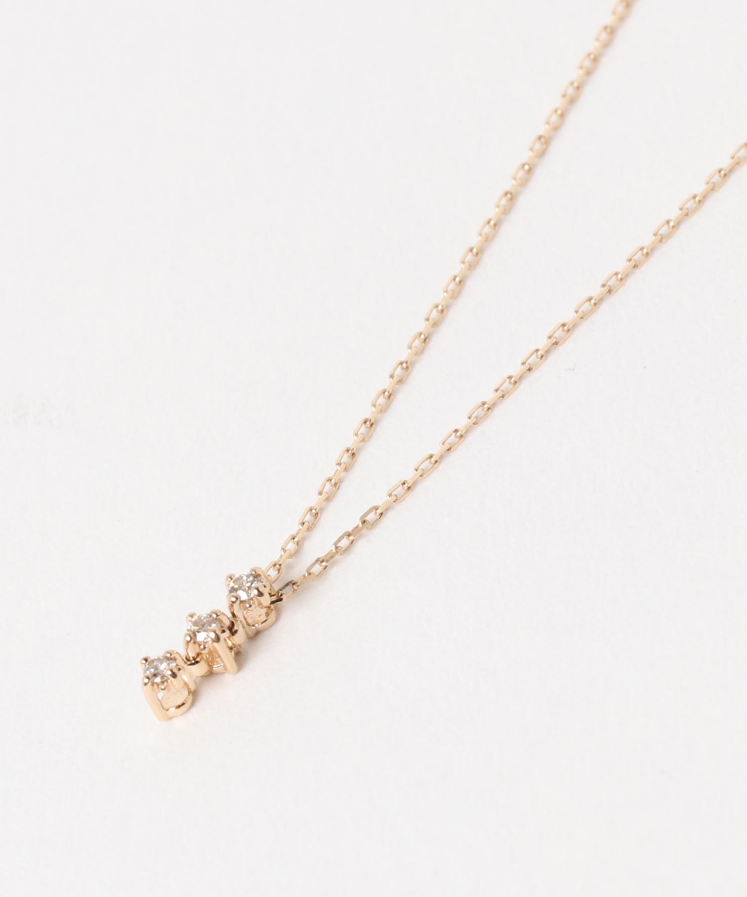 K10ダイヤモンドネックレス