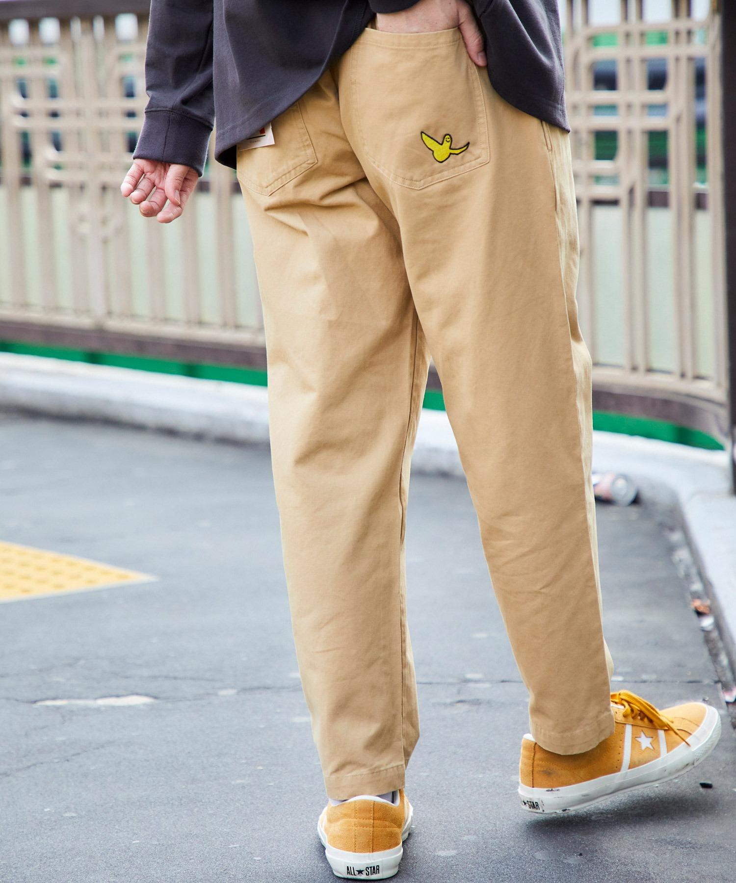 Mark Gonzales/マークゴンザレス 別注 バルーンビッグシルエット シェフパンツ/スケーターパンツ