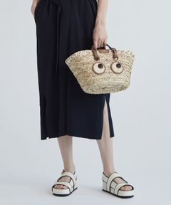 "ANYA HINDMARCH / ""Small Paper Eyes Basket"" カゴバッグ"