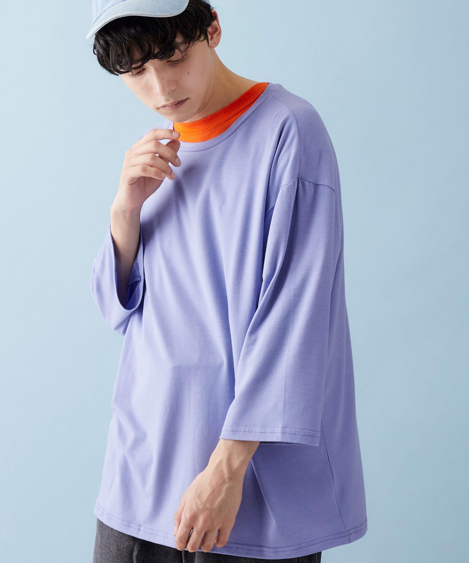 ビッグシルエットドロップショルダー ビッグシルエットカットソー(summer sleeve)