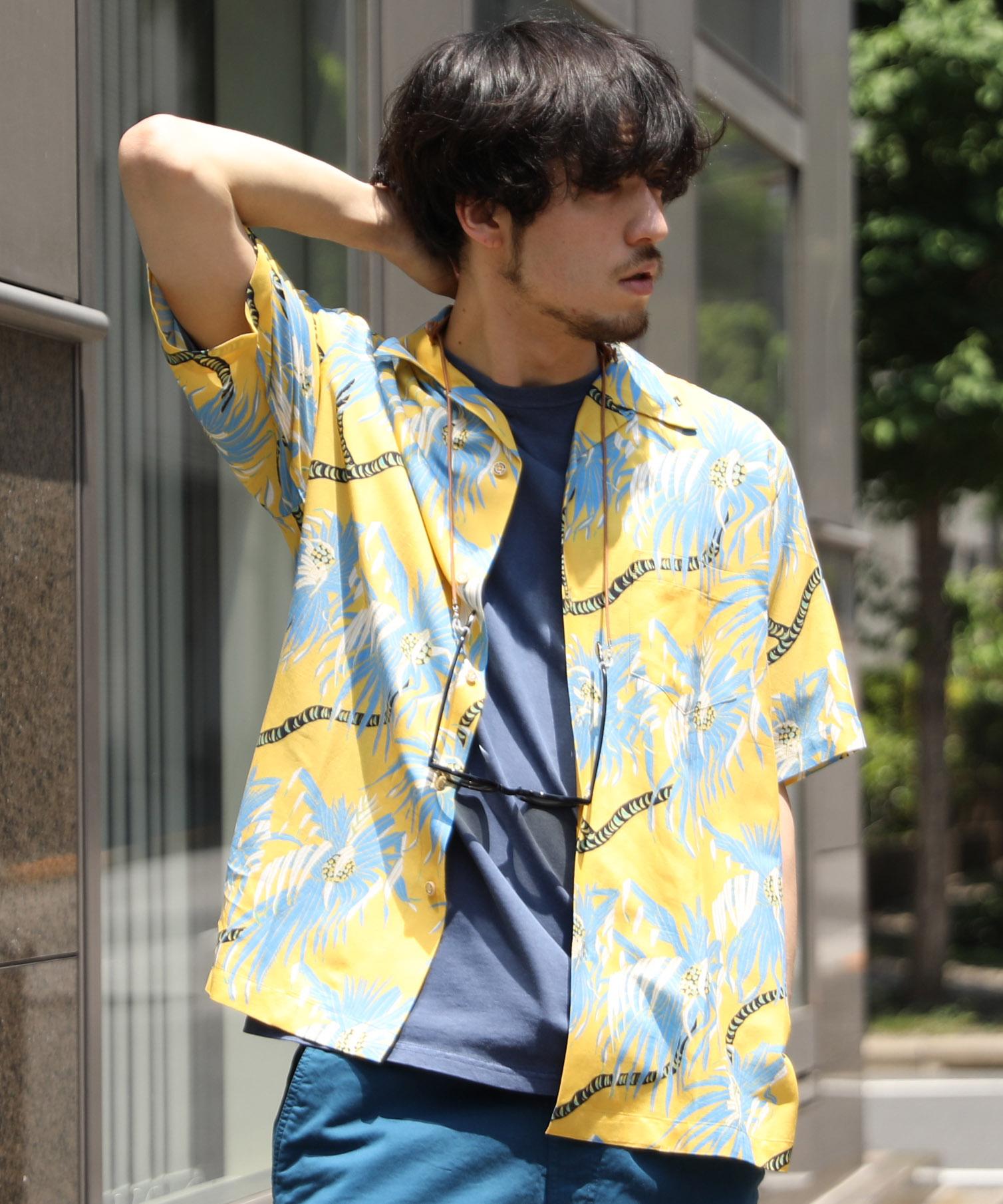reyn spooner x ARC レインスプーナー アメリカンラグシー別注 / OPEN COLLAR SHIRT オープンカラーシャツ