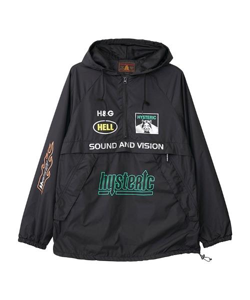 HG SOUND AND VISION プルオーバー