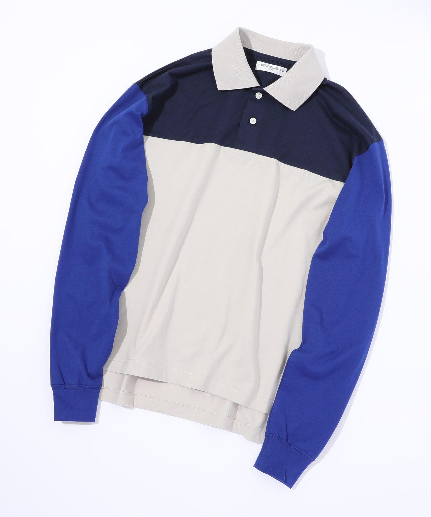 アメリカンラグシー AMERICAN RAG CIE / ビッグパネルポロ Big Paneled Poloshirt