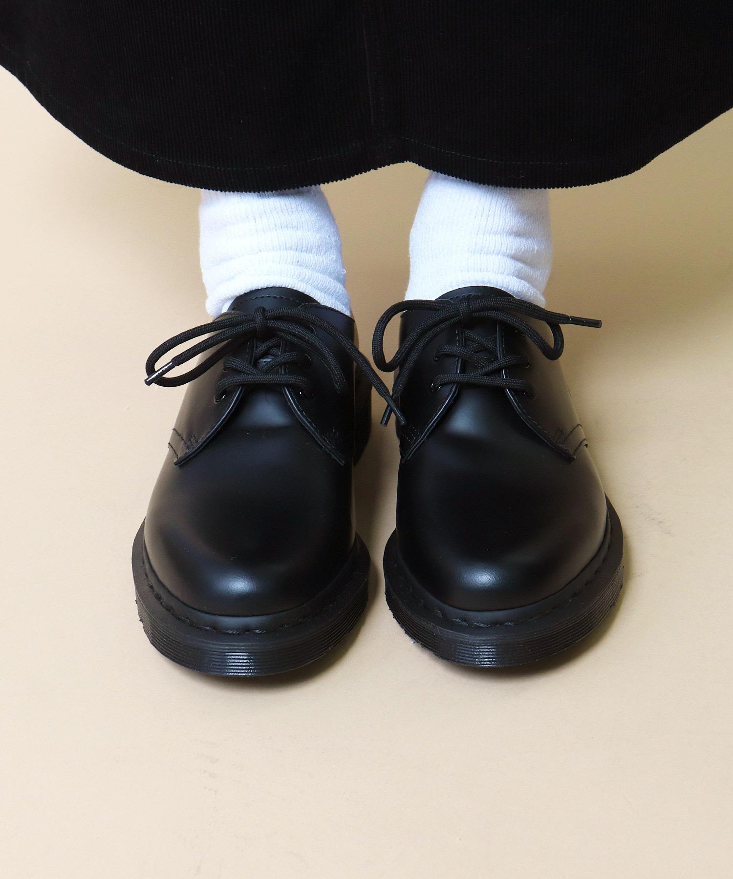 【Dr.Martens / ドクターマーチン】1461 MONO 3EYE SHOE モノトーン 3アイレット シューズ レザーシューズ 革靴 短靴 14345001