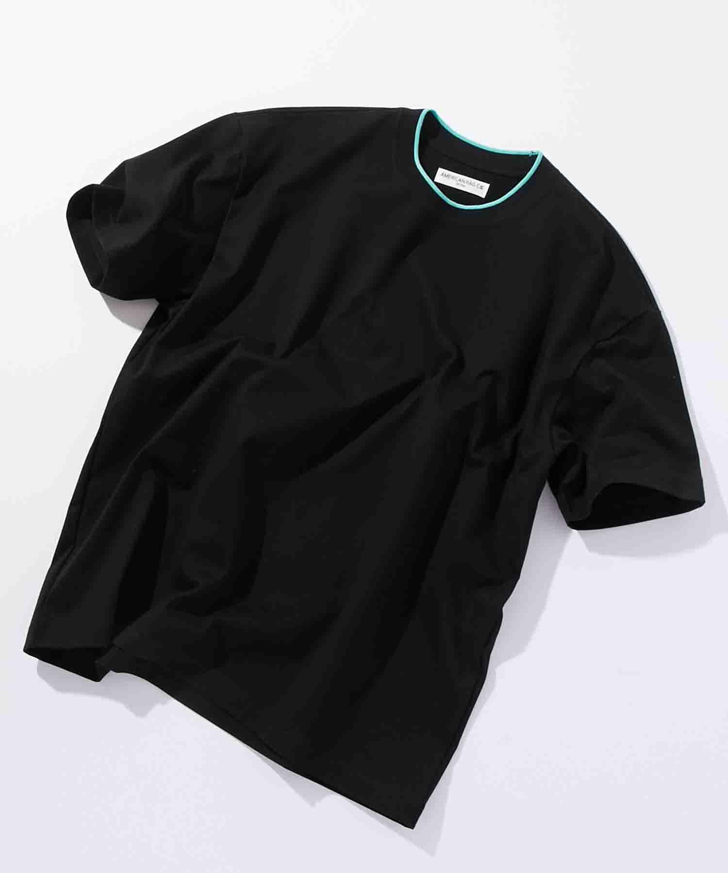 アメリカンラグシー AMERICAN RAG CIE / ラインリブTシャツ Lined Rib T-shirt