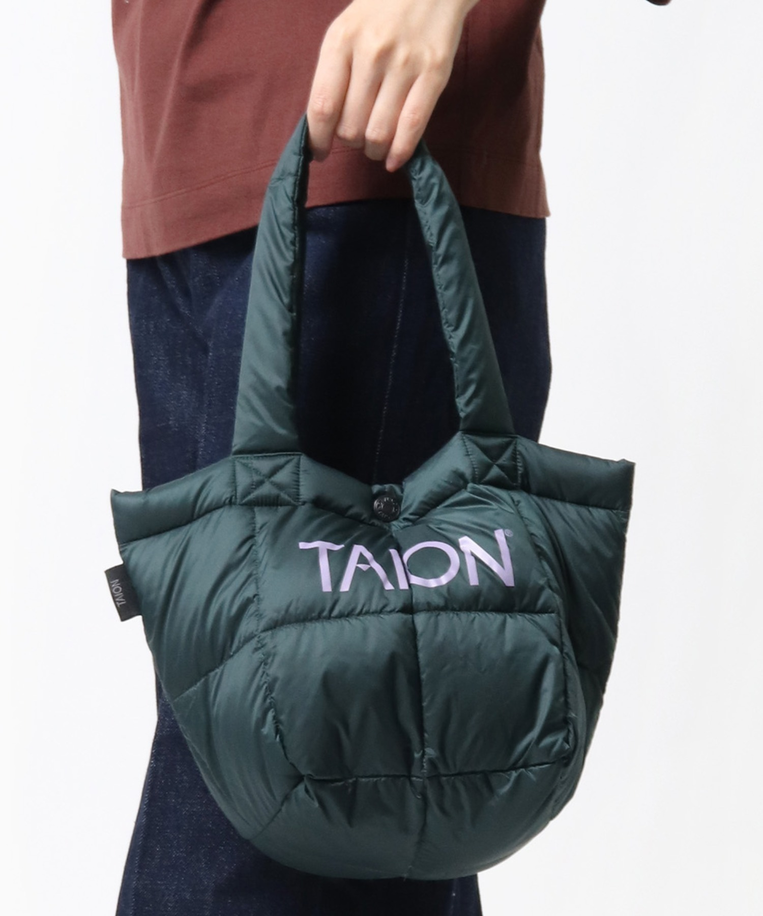 【 TAION / タイオン 】ダウンランチトートバッグ DON TAIONTOTE2S