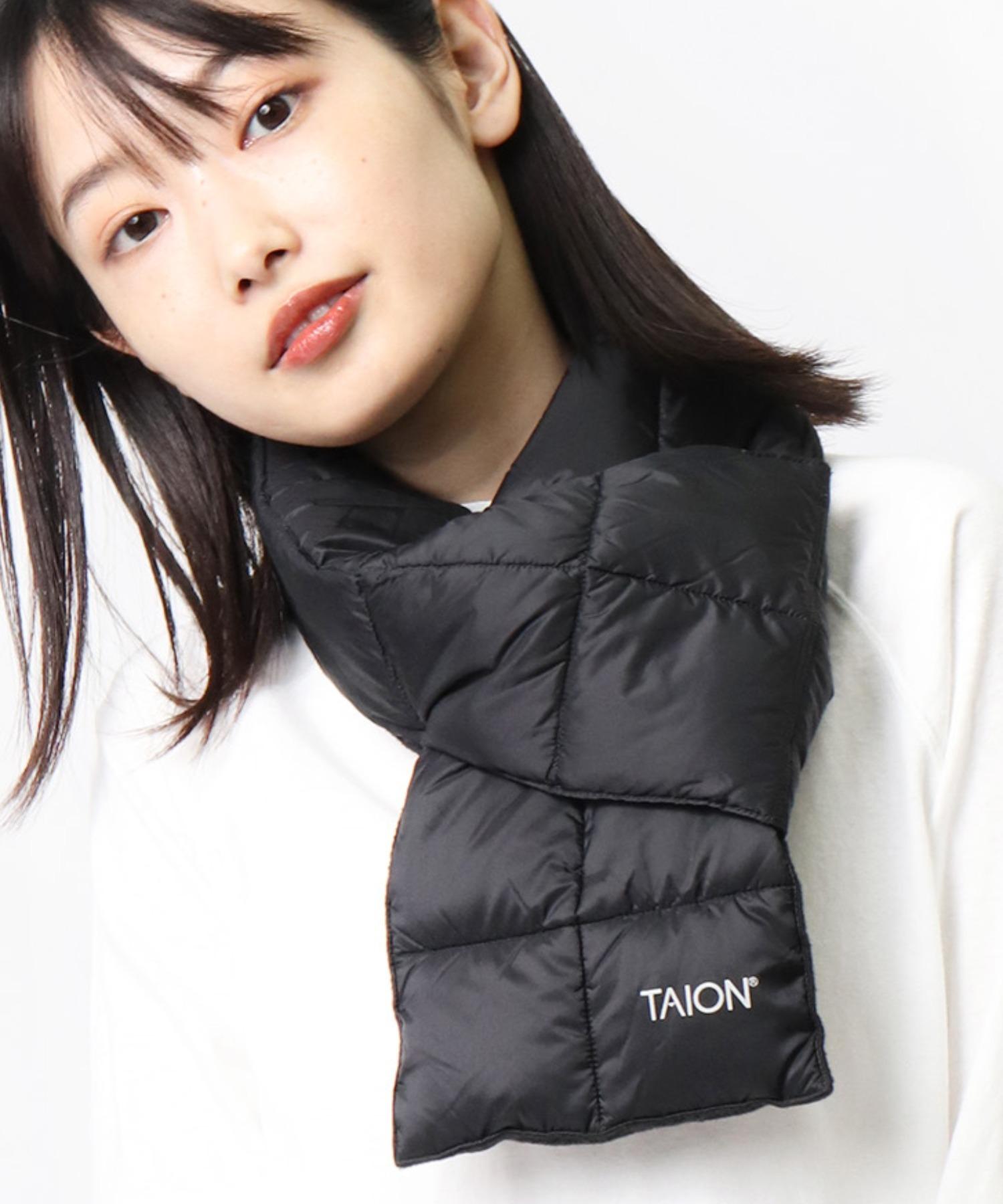 【 TAION / タイオン 】ベーシック ダウンマフラー DON TAION2012