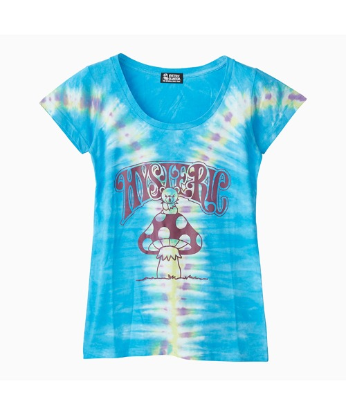 BEAR ON MUSHROOM Tシャツ