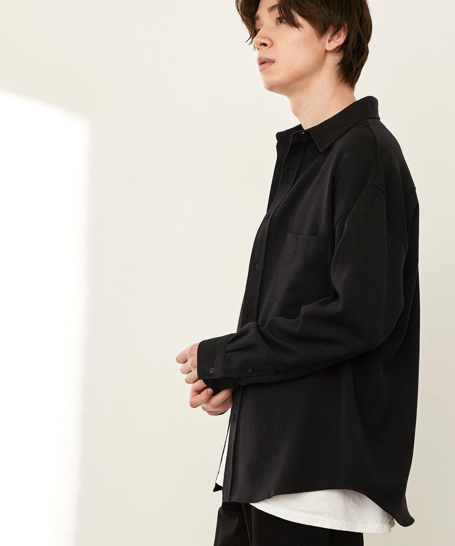 オーバーサイズTRストレッチレギュラーカラーシャツ L/S(MONO-MART)2021SPRING