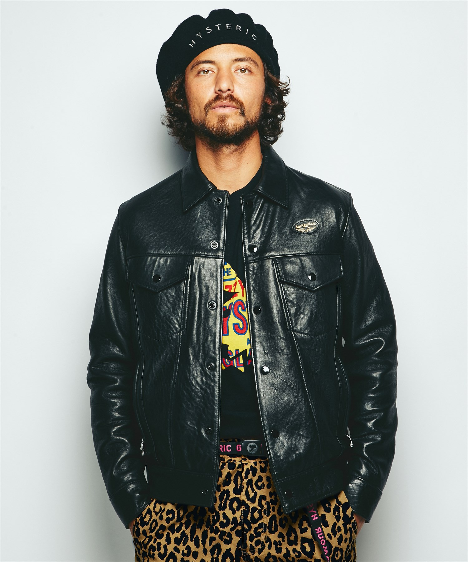 Lewis Leathers×HYSTERIC Western ジャケット