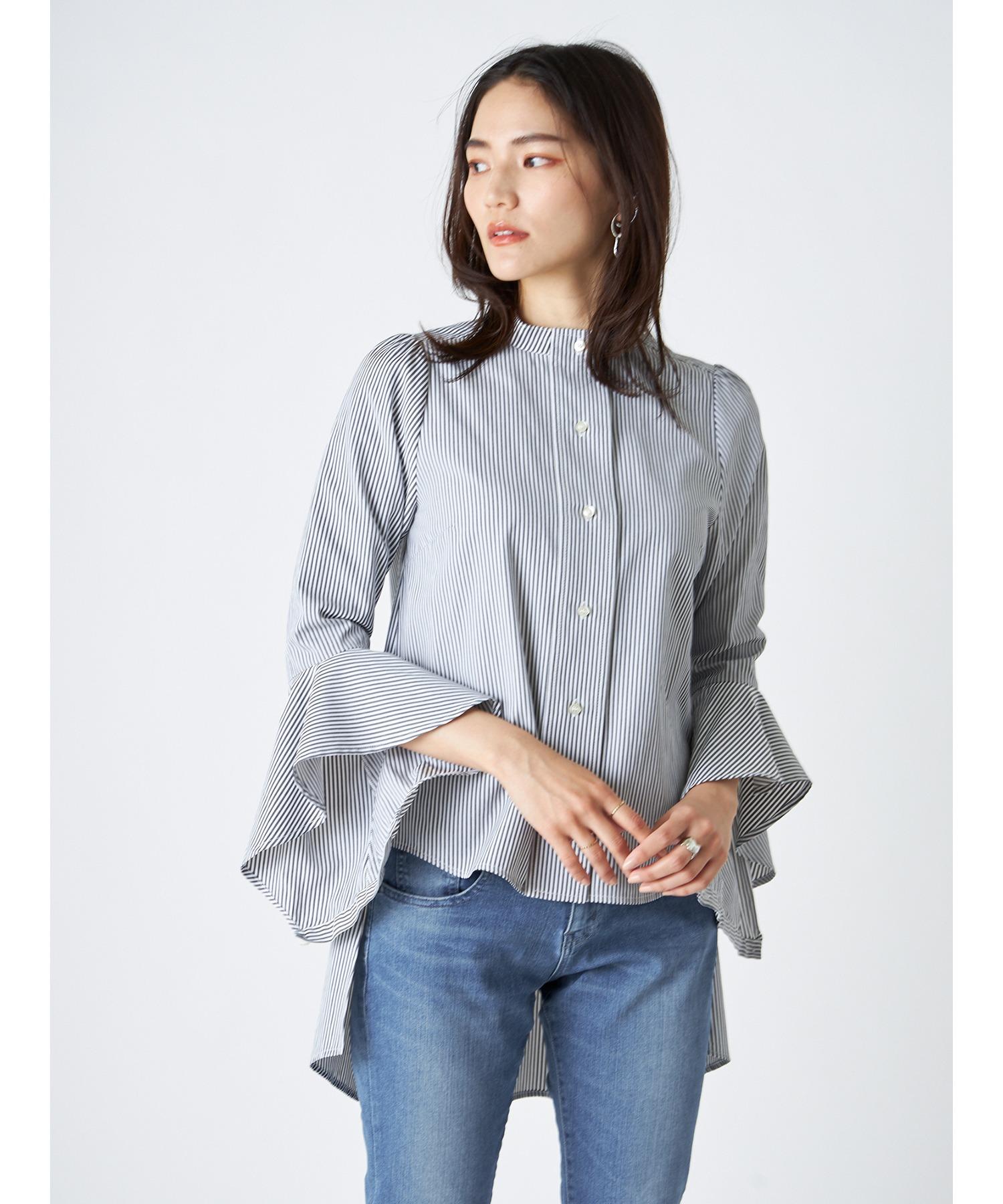 バックロングテールシャツ