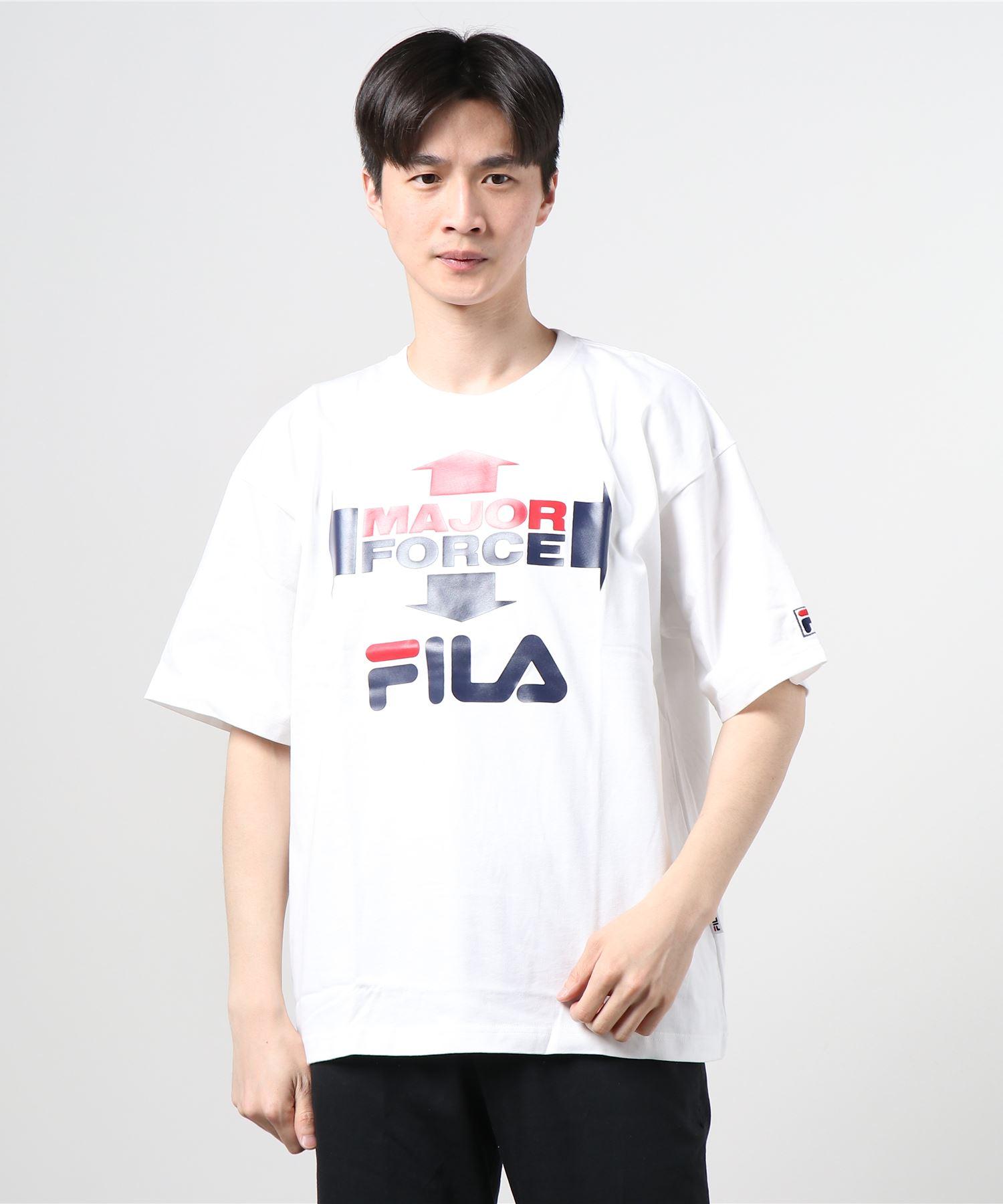 【 FILA / フィラ】 FILA / フィラ × MAJORFORCE S/S T-shirts メジャーフォース Tシャツ FS0102・・ 半袖Tシャツ