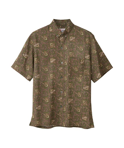 HYSTERIC SPADE柄 ボタンダウンシャツ