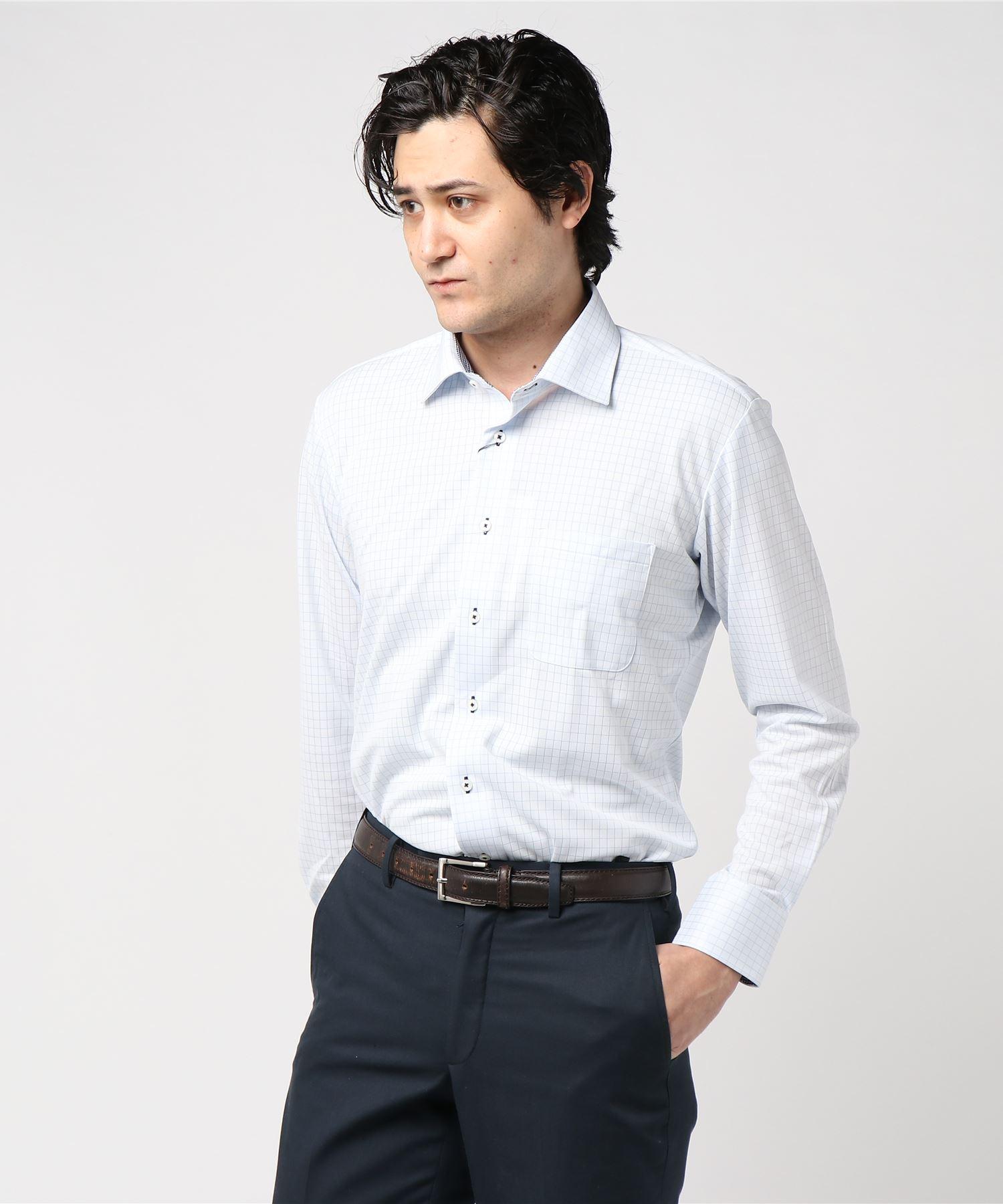 アイシャツ グラフチェック WD