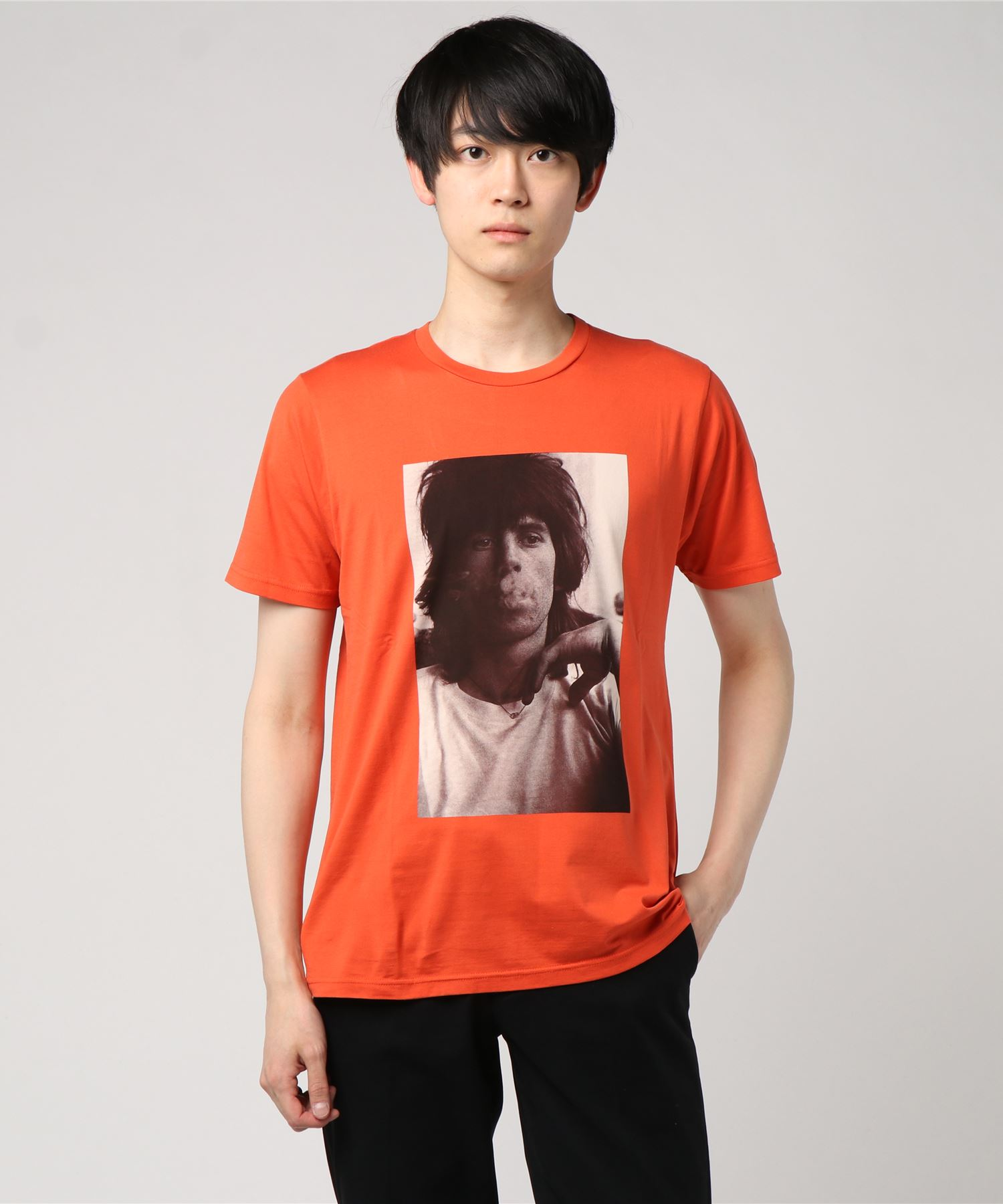 THE ROLLING STONES/KEITH 1968 LONDON pt Tシャツ