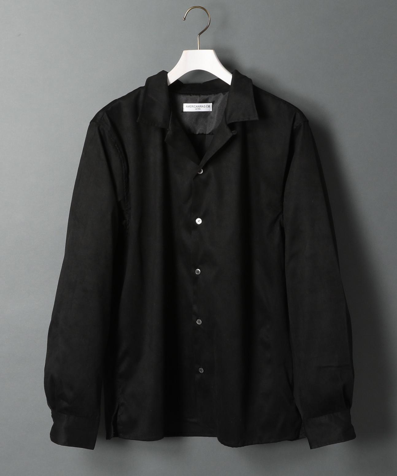 アメリカンラグシー AMERICAN RAG CIE / オープンカラースエードシャツ Open Collar Suede Shirt