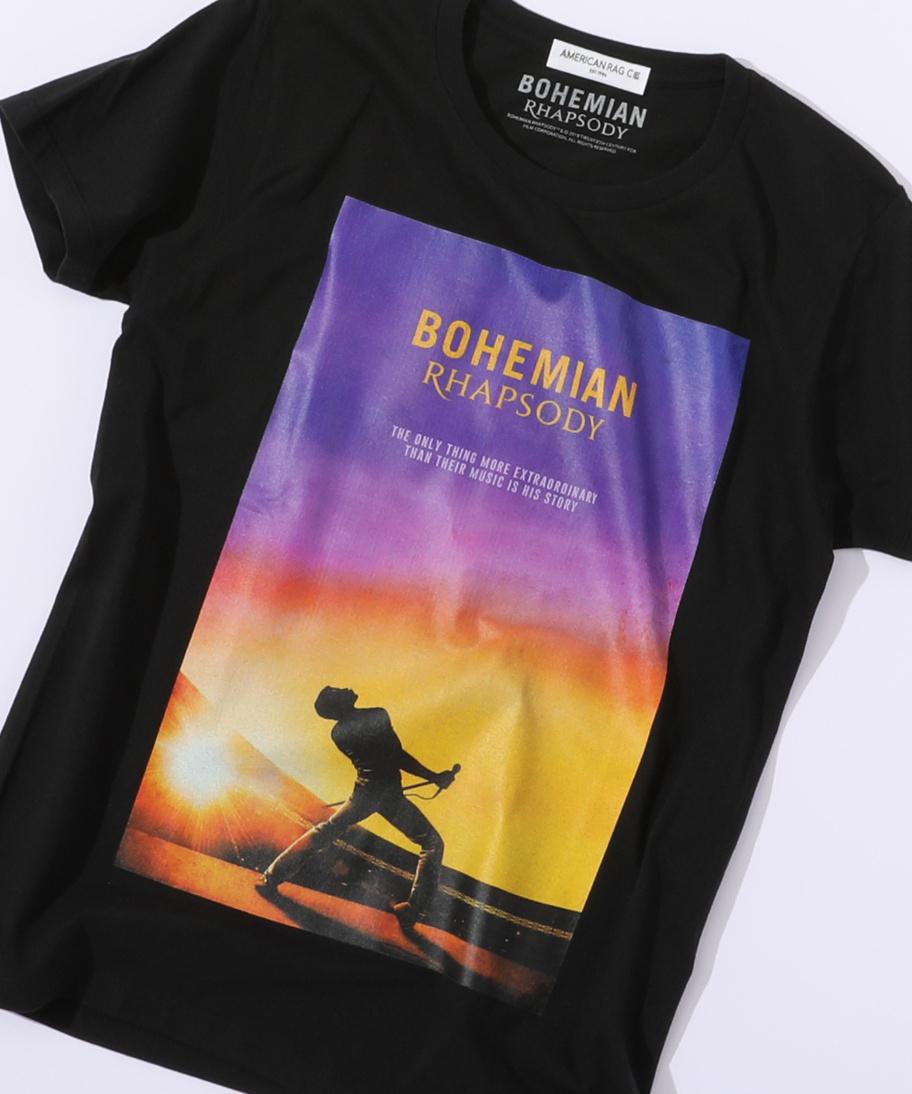 ボヘミアンラプソディ コラボTシャツ Sunset Bohemian Rhapsody Movie T-Shirt / アメリカンラグシー AMERICAN RAG CIE