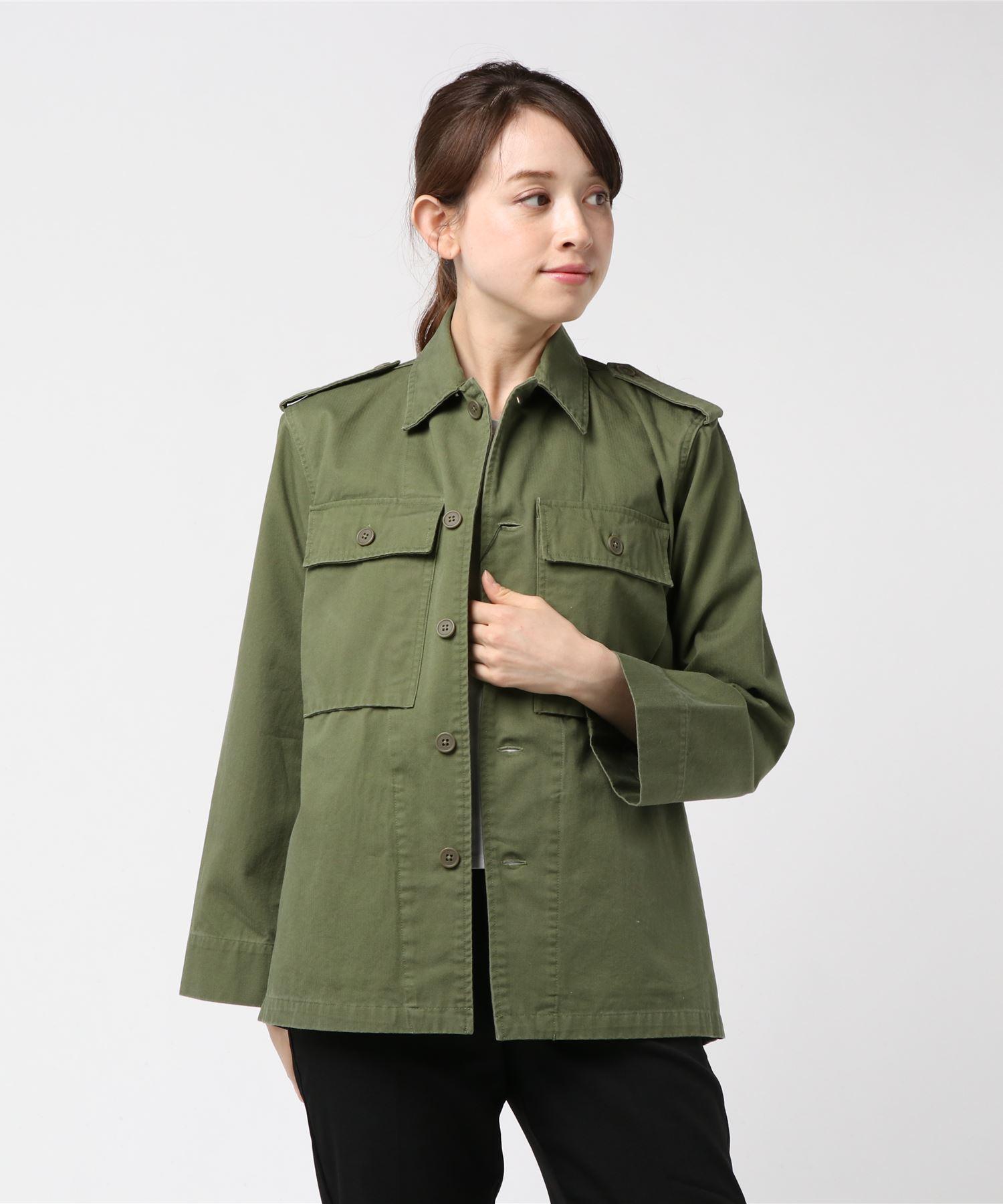 ESTNATION / ミリタリーシャツジャケット