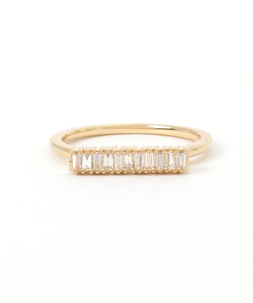 K18YGダイヤモンドリング(40144311032)