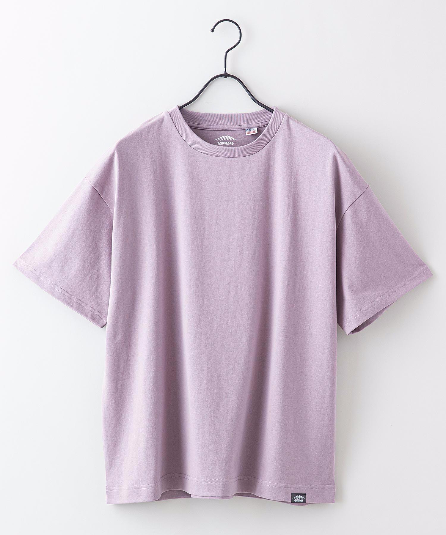 USAコットンヘビーウェイトTシャツ 5分袖 オーバーサイズ/ビッグシルエット