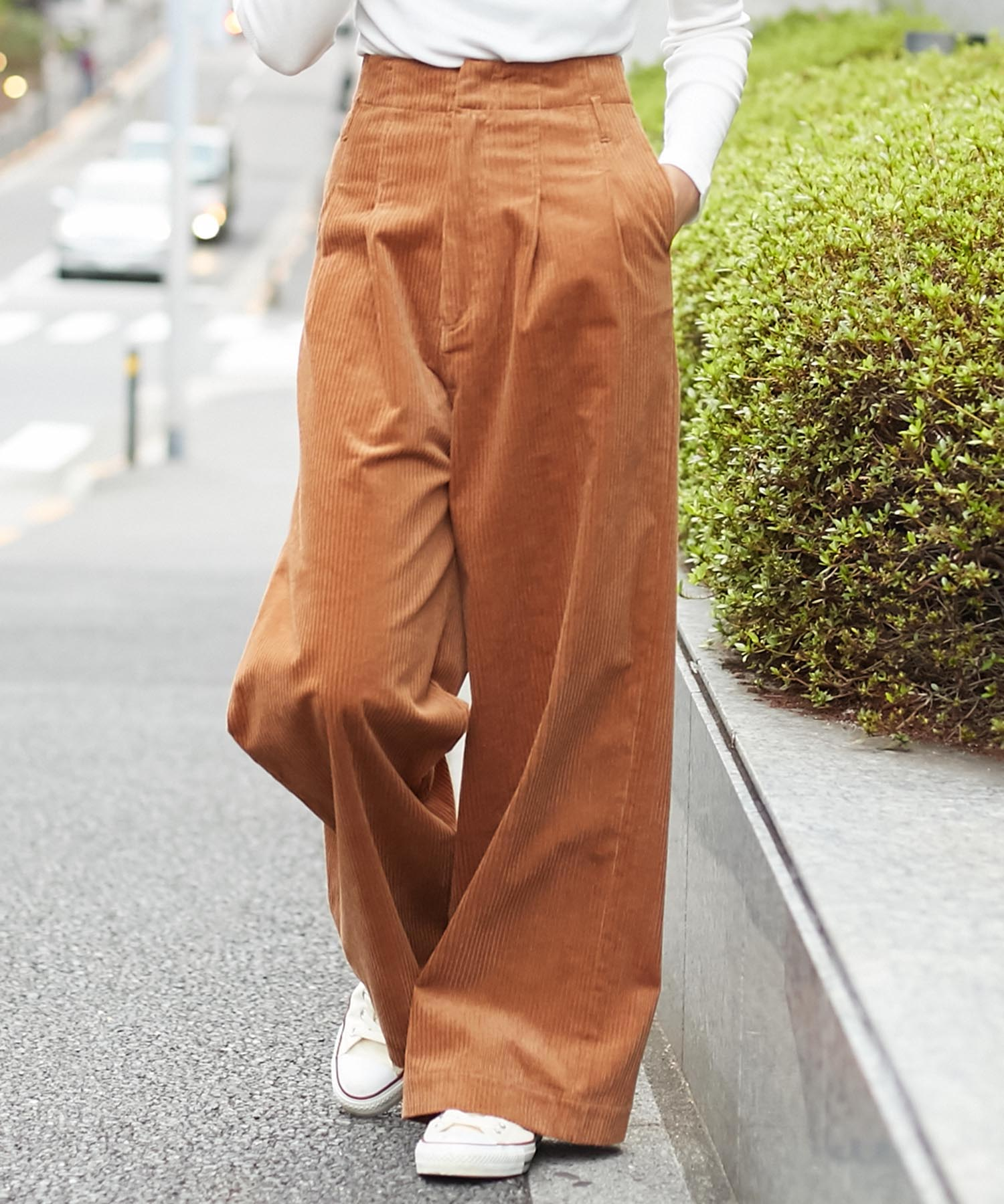 アメリカンラグシー AMERICAN RAG CIE / ストレッチコーデュロイワイドパンツ Stretch Corduroy Wide Pants