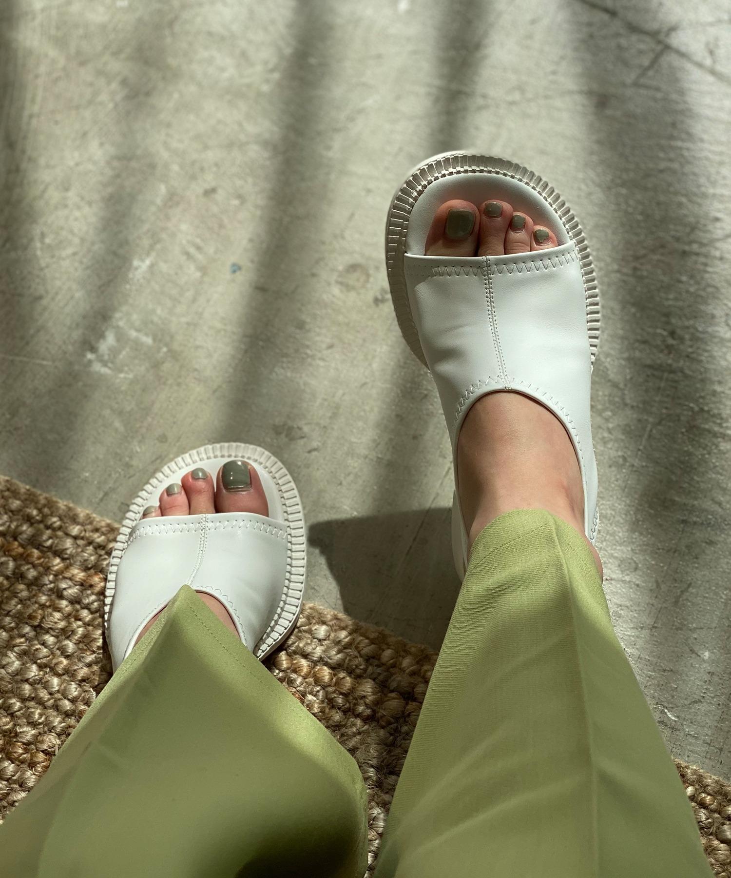 【chuclla】【2021/SS】Wide round-toe sandal sb-6 chs115