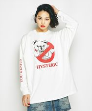 BEAR BUSTERS プリント ビッグTシャツ