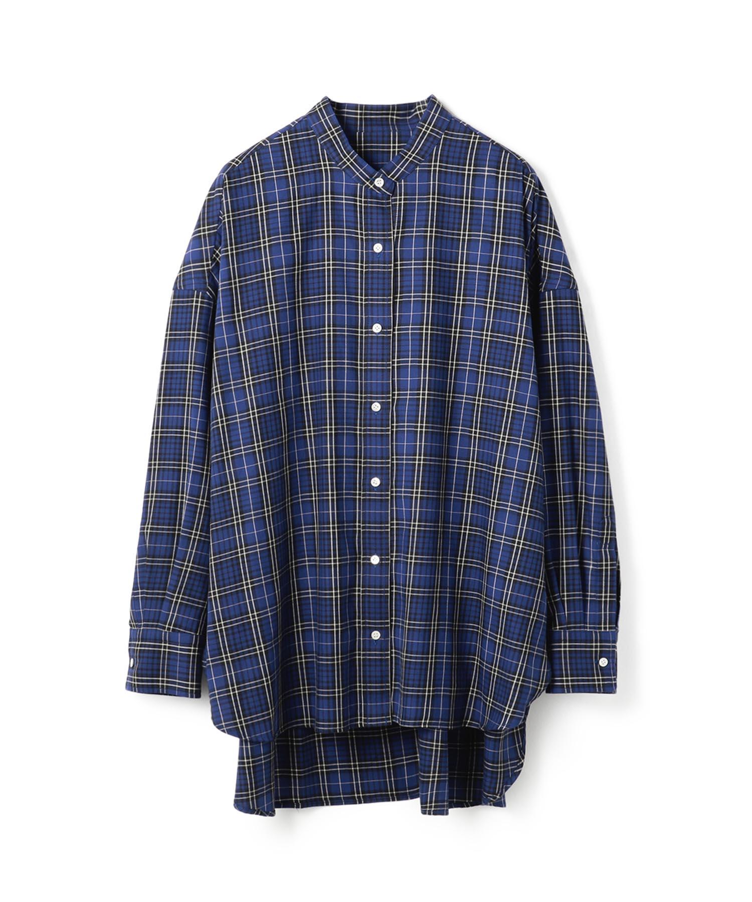 【VERY 11月号 掲載商品】ESTNATION チェック柄ビックシャツ