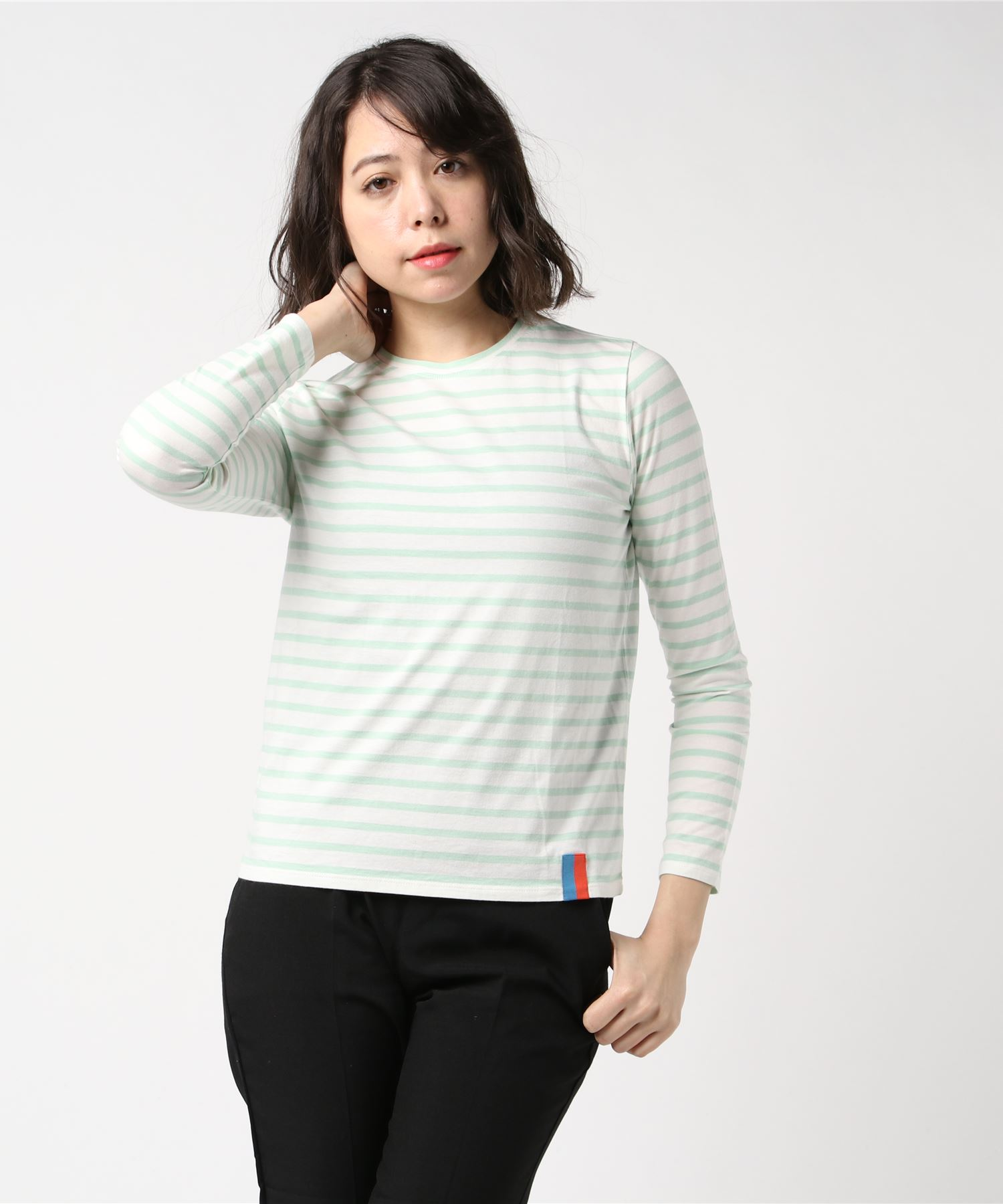 KULE キュール / ボーダー長袖Tシャツ