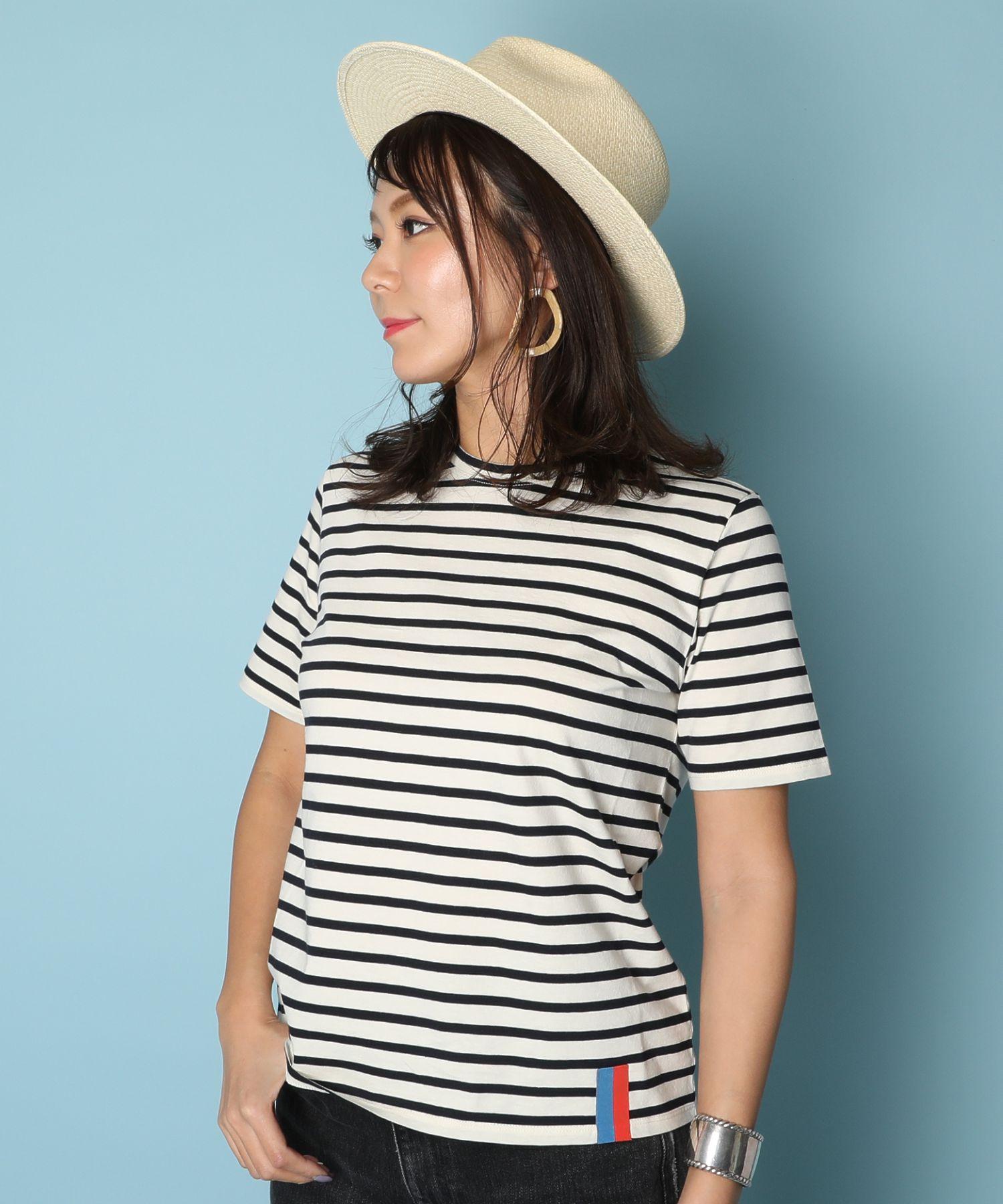 KULE キュール / ボーダー半袖Tシャツ