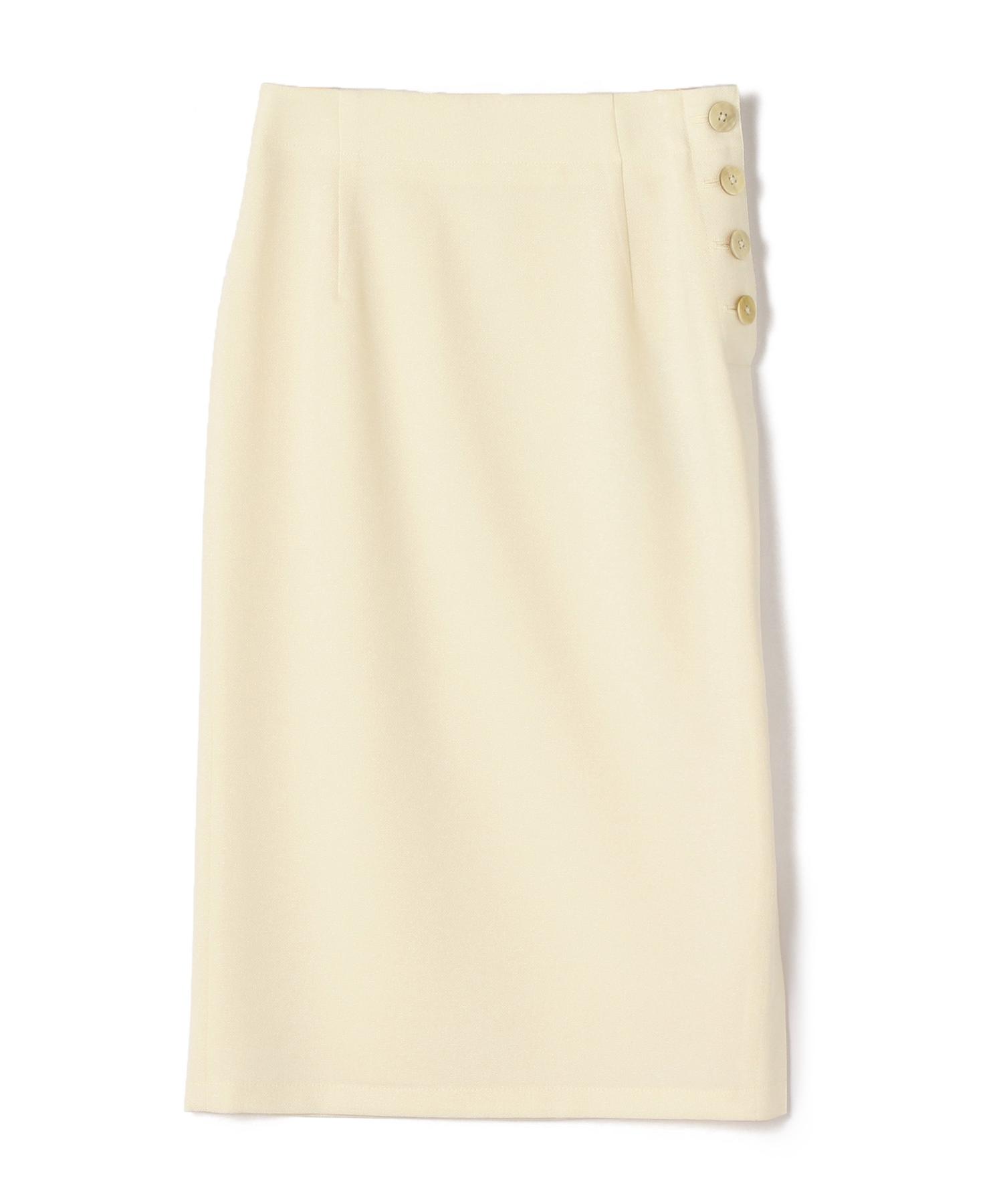 ESTNATION / サイドボタンスリットタイトスカート