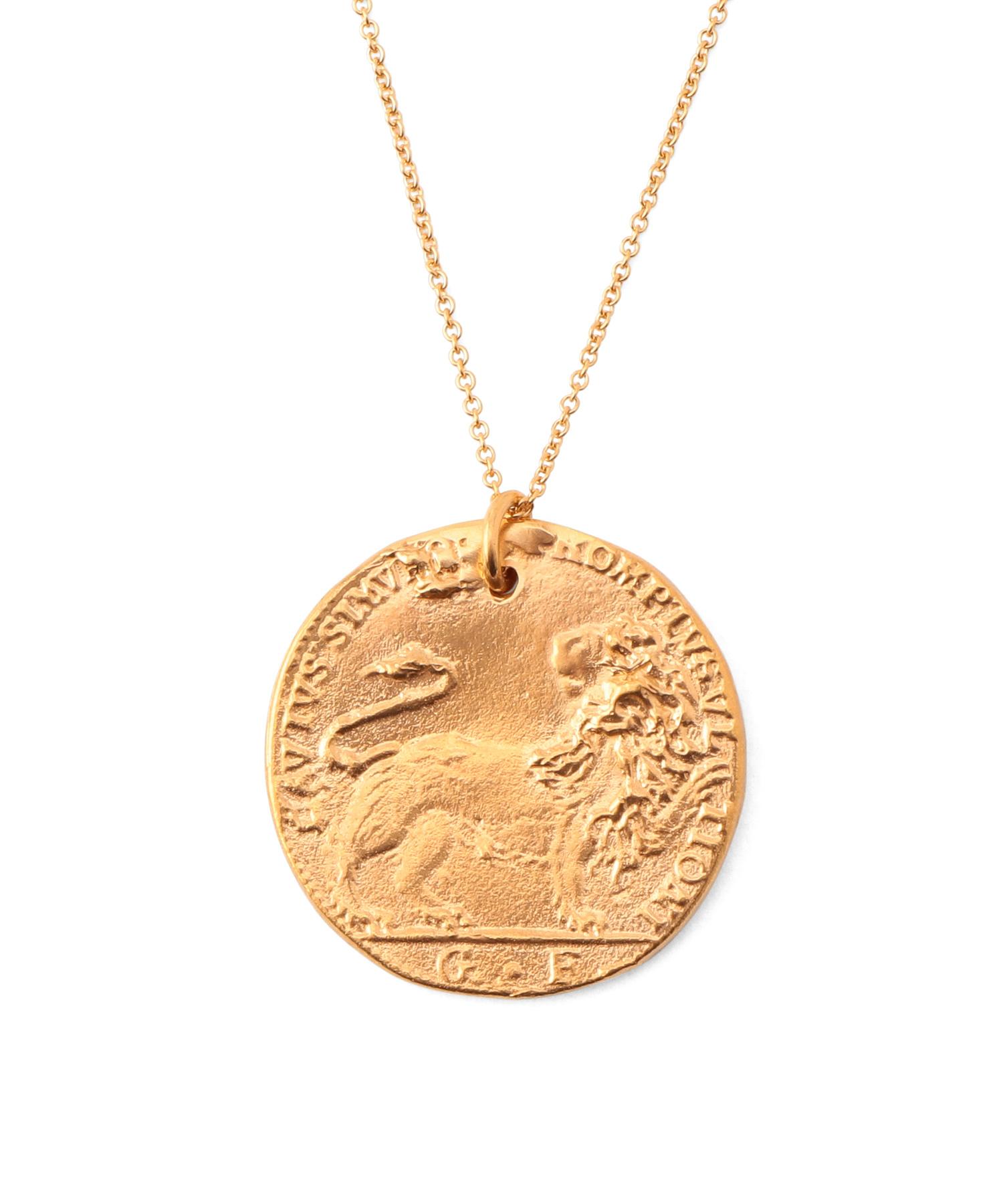 "【VERY 11月号掲載商品】alighieri ""Il Leone"" Coin Pendant"