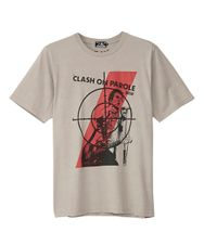 THE CLASH/CLASH'S 'ON PAROLE' TOUR pt Tシャツ