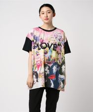 COURTNEY LOVE/LOVE DISCO pt ビッグTシャツ