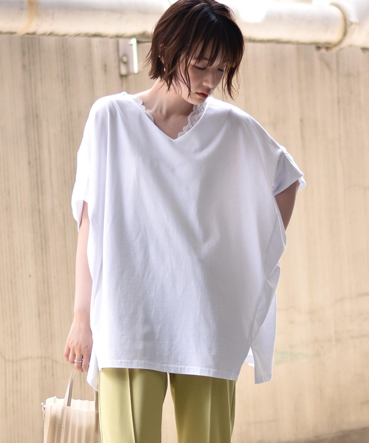 RETRO GIRLチャリティTシャツ/2WAYドルマントップス