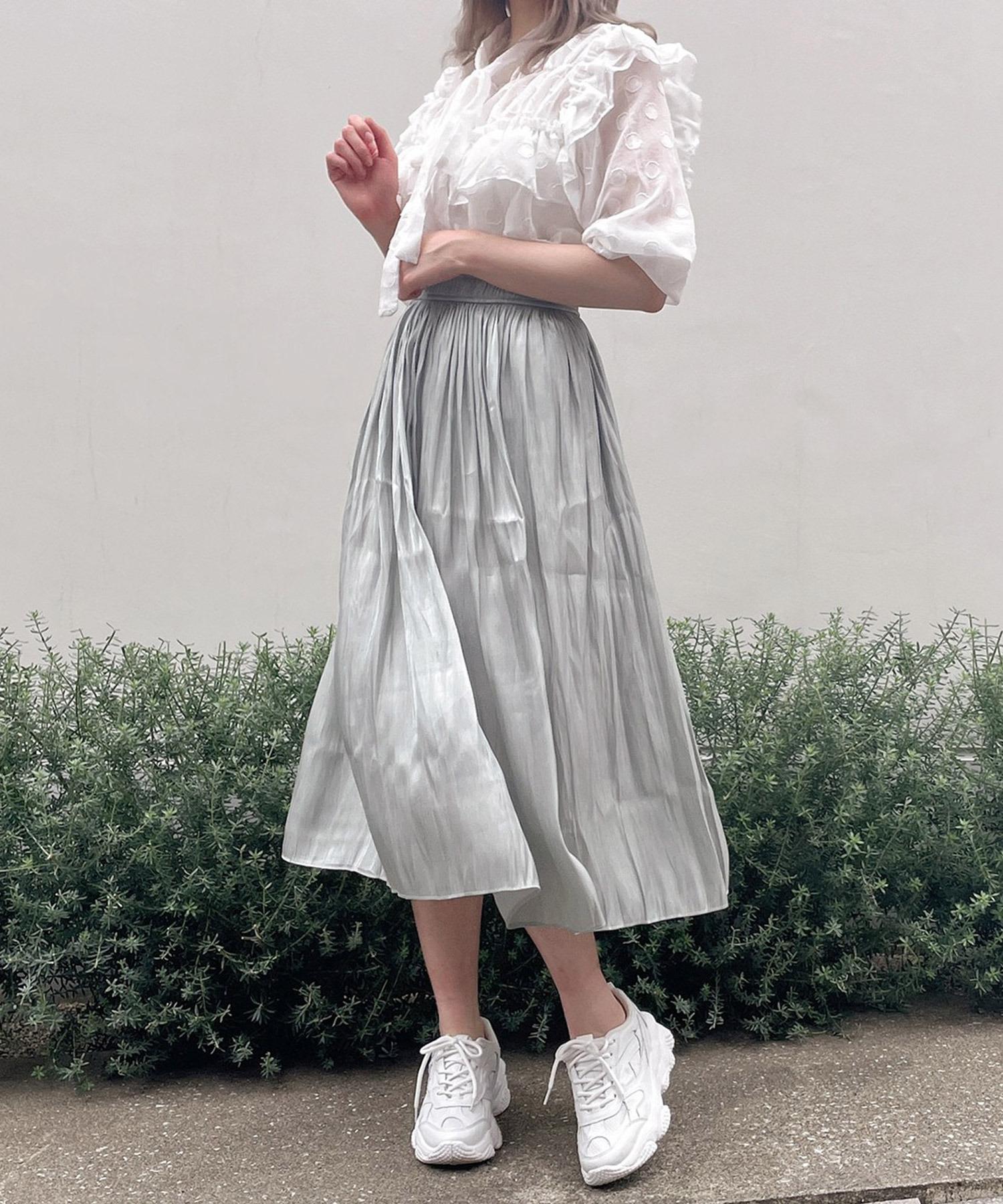 【Crea titty&Co.PETIT】ギャザーミディスカート