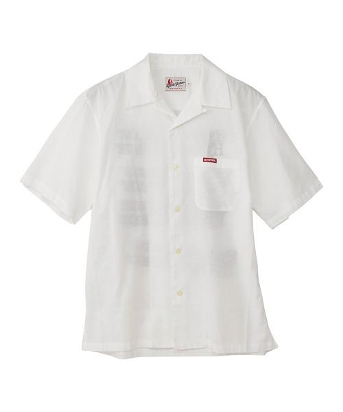 TYPE LOGO オープンカラーシャツ