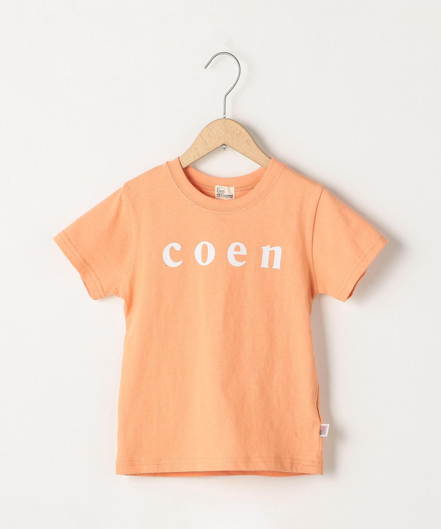 coen(コーエン)ロゴTシャツ_2