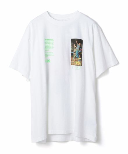 "OFF-WHITE / ""PASCAL PAINTING S/S OVER TEE"" Tシャツ"