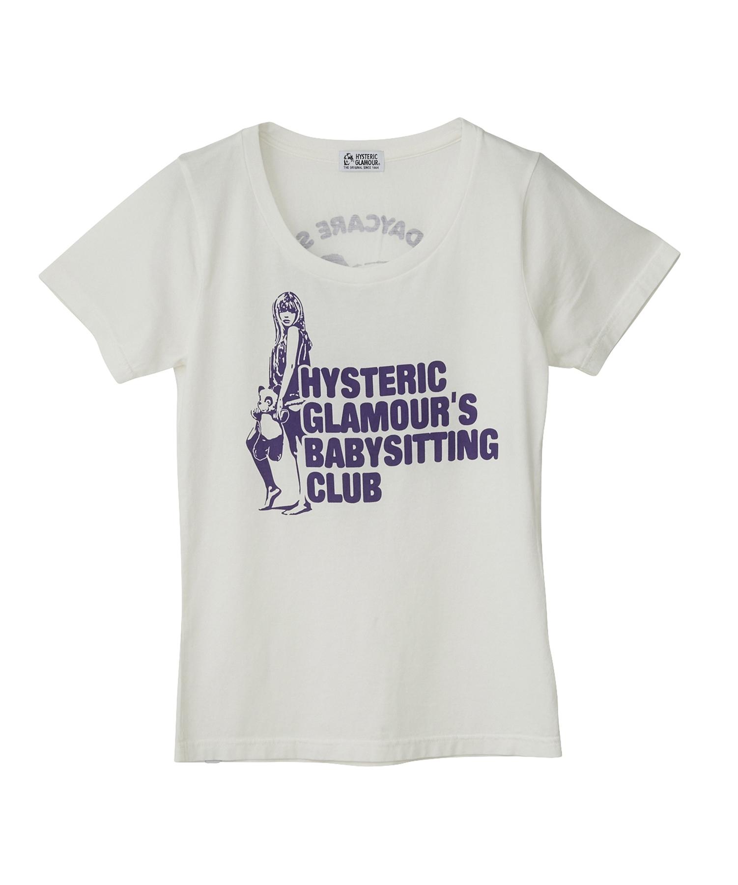 BABYSITTING プリント Tシャツ