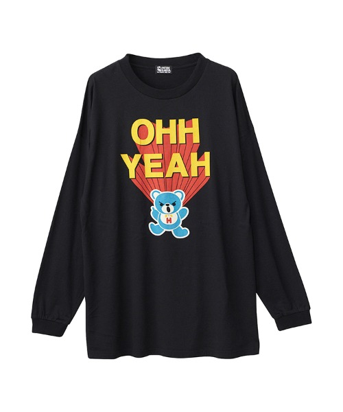 OHH YEAH オーバーサイズTシャツ
