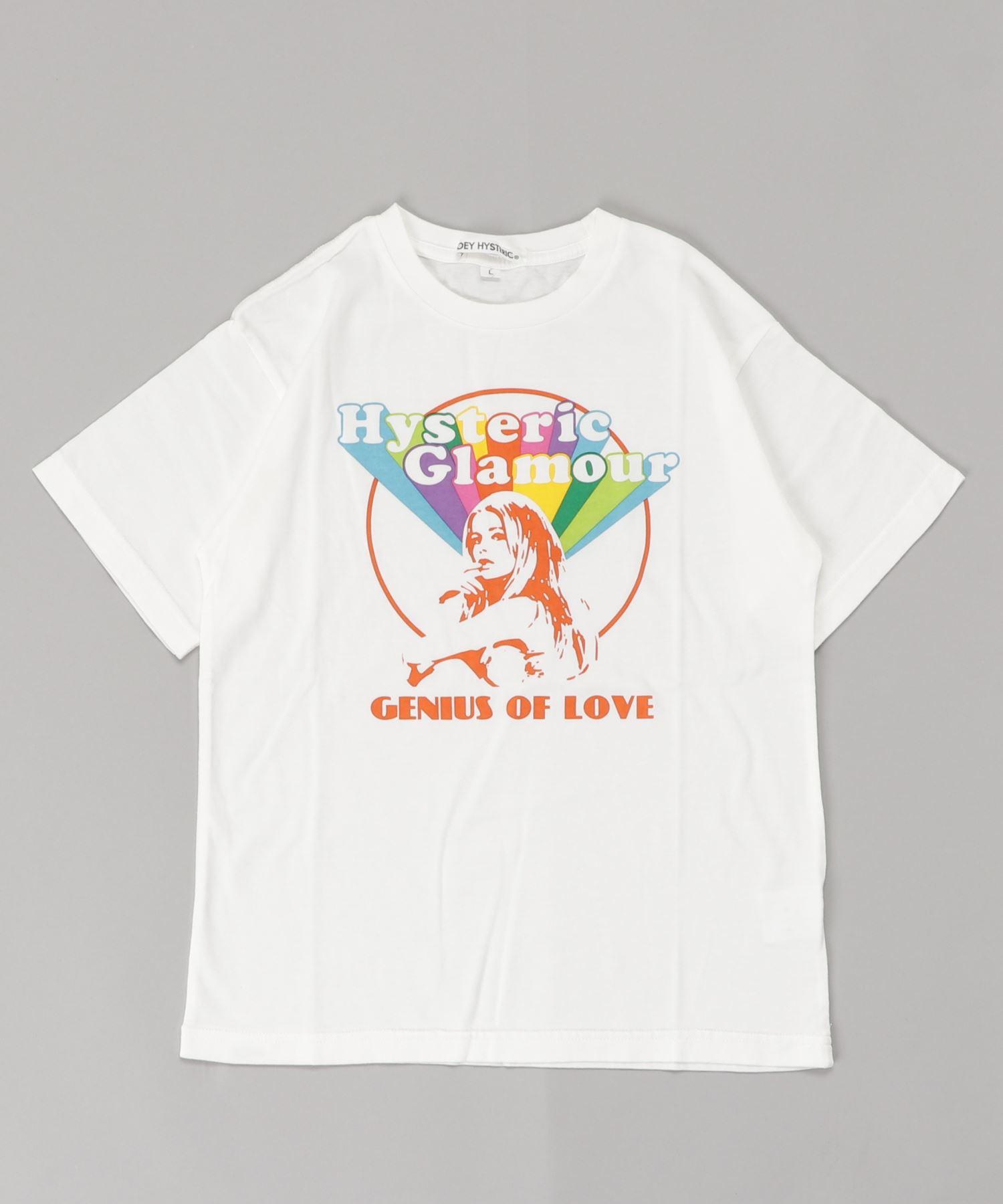 SHE'S A RAINBOW pt Tシャツ【L】