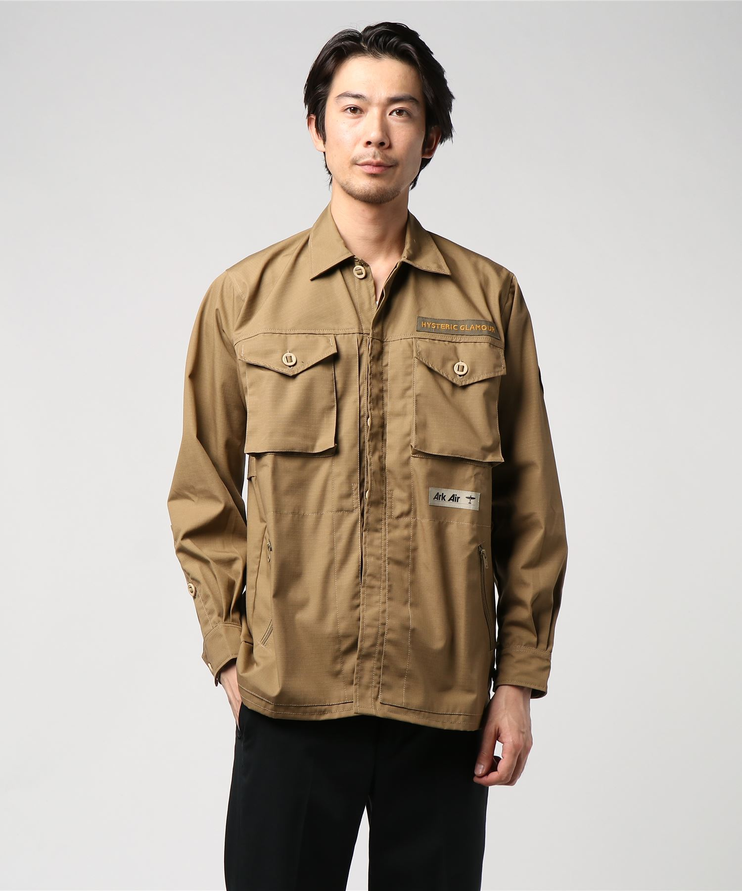 ArkAir×HYSTERIC JUNGLEシャツ