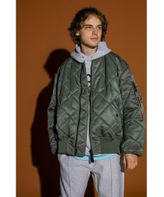 <ALPHA INDUSTRIES × monkey time> QUILTED MA1/フライトジャケット