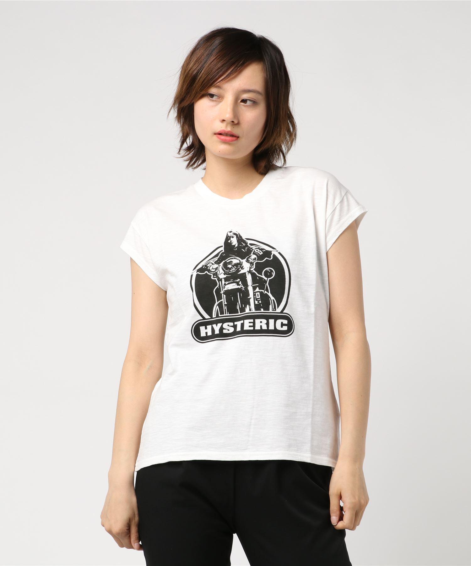 BIKE GIRL Tシャツ