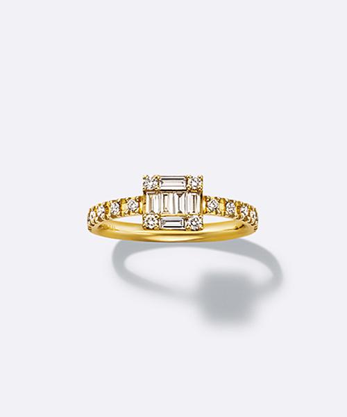 K18ダイヤモンドリング(40123311040)