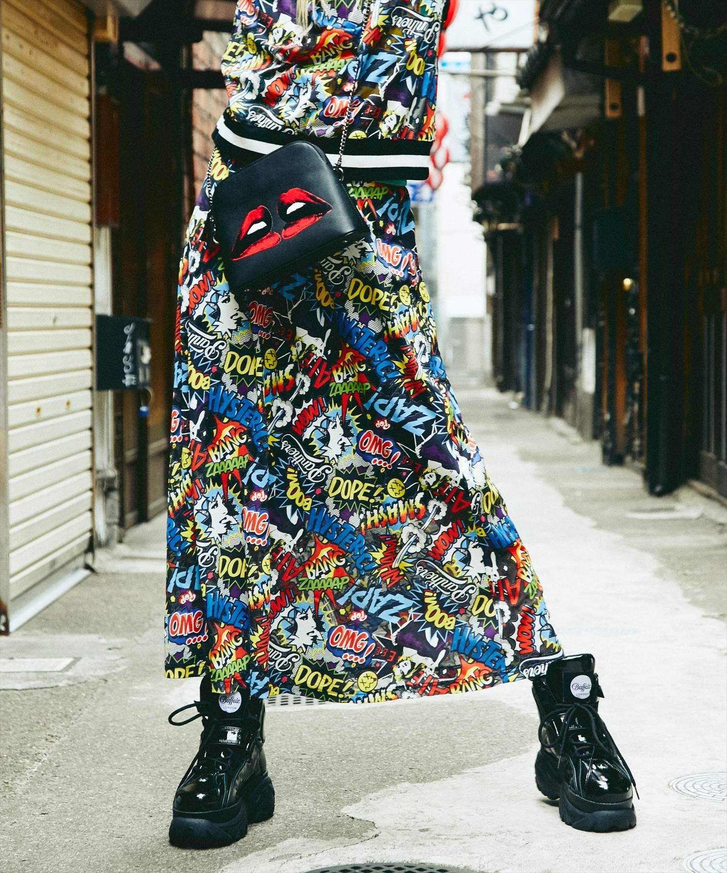 HYS ZAP ZAP総柄スカート