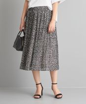 【WORK TRIP OUTFITS】★WTO CS PE ジラフ プリントスカート