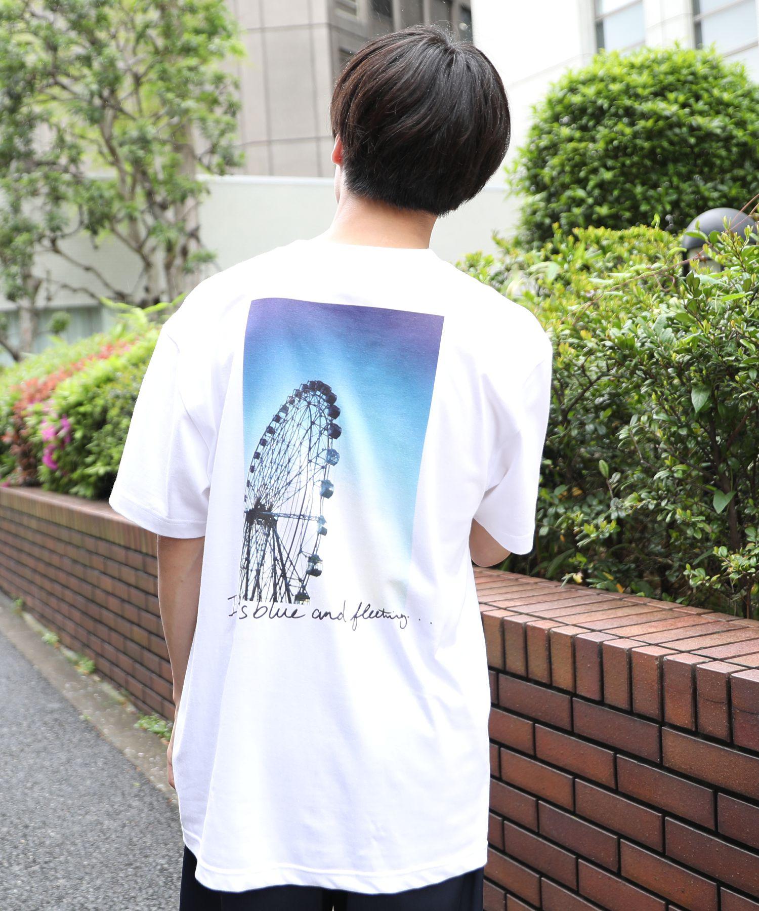 AMERICAN RAG CIE × Fukiharu PHOTO TEE no.2 / アメリカンラグシー×吹春友介 フォトTシャツ
